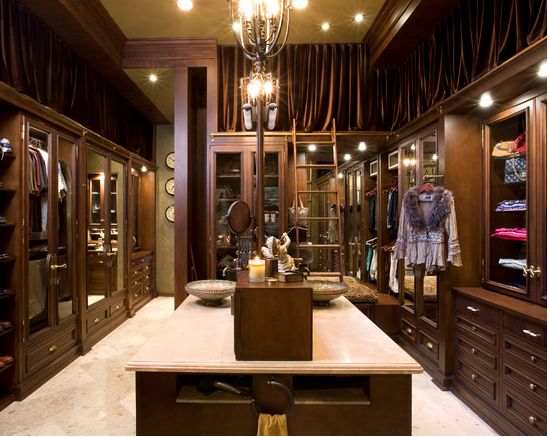 128 best It's Every Fashion Girl's Dream: A Major Walk-In Closet!!! images  on Pinterest | Walk in closet, Dresser and Cabinets