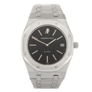 AUDEMARS PIGUET - a gentleman's Royal Oak Jumbo bracelet watch. Estimate GBP: £5,800 - £7,800