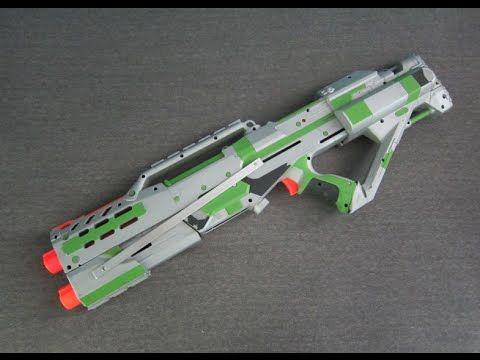 MOD] Nerf Longshot Stampede Integration [Shotgun Priming Grip ...
