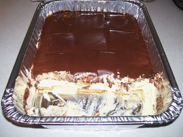 Popular Reviews From Food.com  This is amazing!! Refrig for 24hrs prior to serving for best taste, but then again it might not make it 24hrs especially in my fridge!!    The first time my mother-in-law made this, I