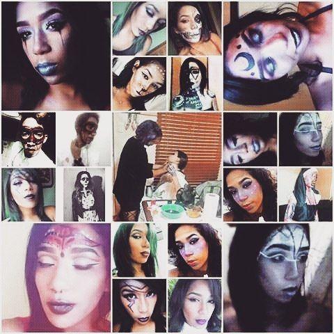 El maquillaje, junto con la pintura, han sido, personalmente, mi mayor vínculo con el arte, es increíble el bienestar que me produce el hecho de realizar un maquillaje, o pintar con mis acuarelas. Considero que no tienen demasiadas diferencias las dos actividades: en el rostro desnudo también veo un lienzo en blanco que espera ser dibujado. Estoy muy feliz por tener el maquillaje en mi vida, es uno de mis más grandes placeres, y espero poder en algún momento dedicarme a él profesionalmente…