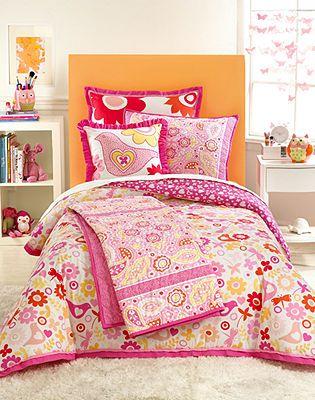 martha stewart collection kids flower power 3 piece comforter sets