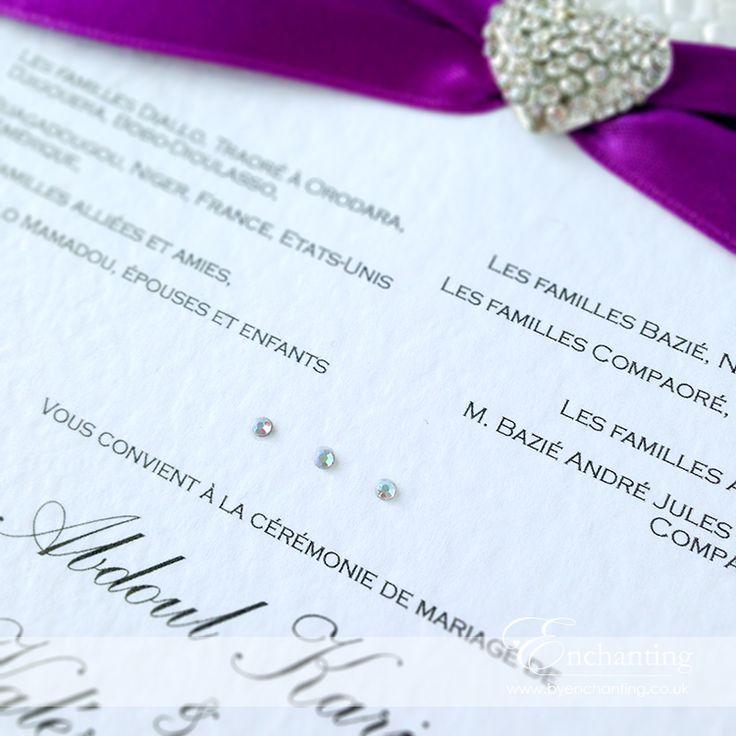 Best 25+ Bright purple wedding invitations ideas on Pinterest ...