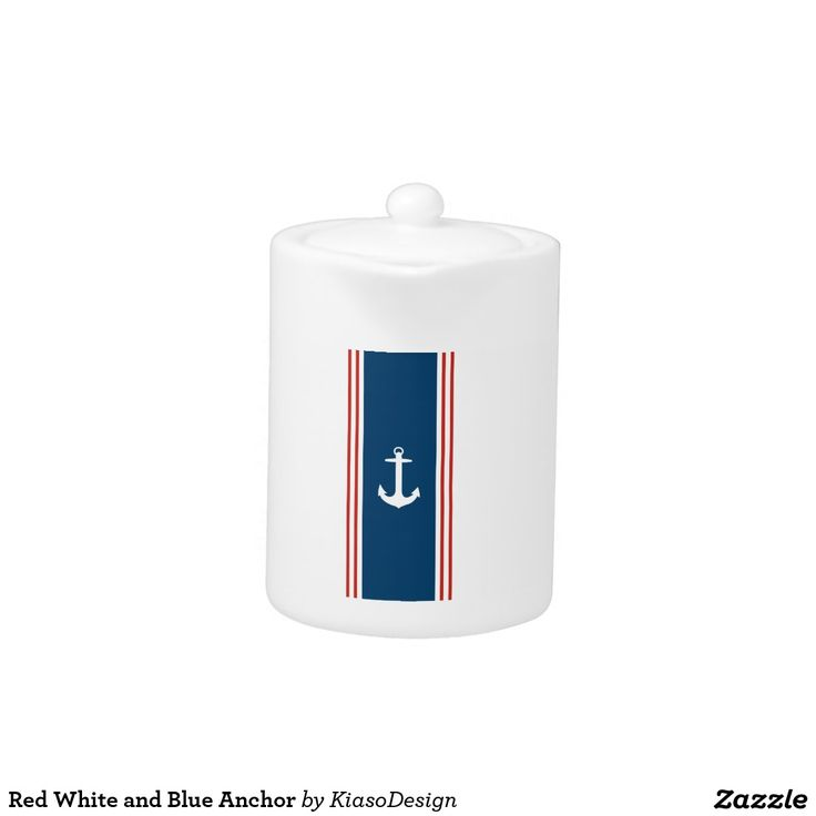 Red White and Blue Anchor