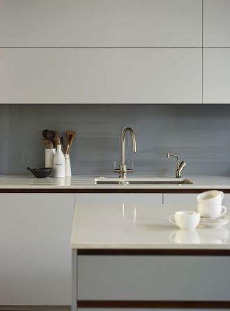 grey kitchen splashback - Google Search