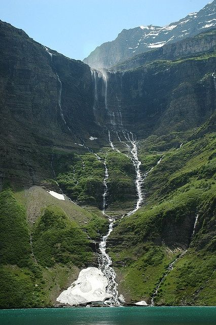Glacier National Park, Montana. Winner of my I want to go back there again award.  http://bit.ly/HwXCKw