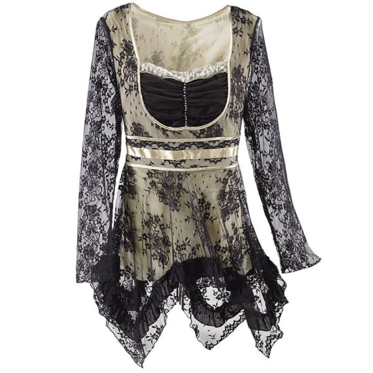 Colette Lace Top -  Pyramid Collection