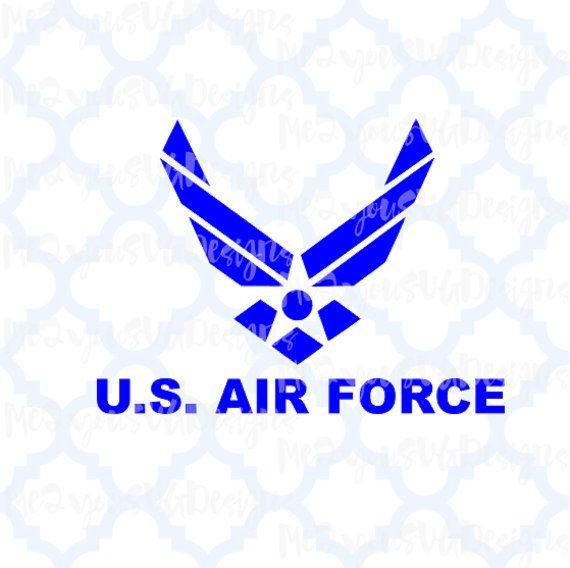 Download US Air Force Emblem SVG,EPS,Png,Studio | Decal design ...