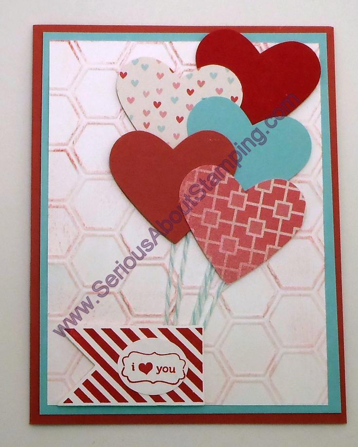 Cute heart card by Charmaine