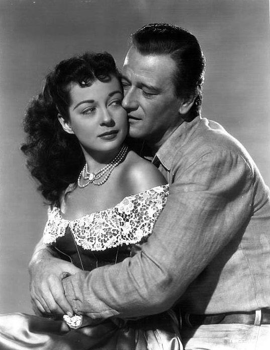 John Wayne & Gail Russell