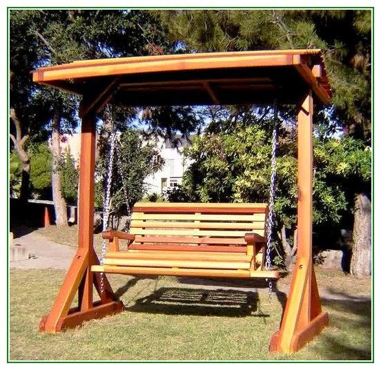 Porch swing frame dimensions woodworking projects plans for Log swing plans