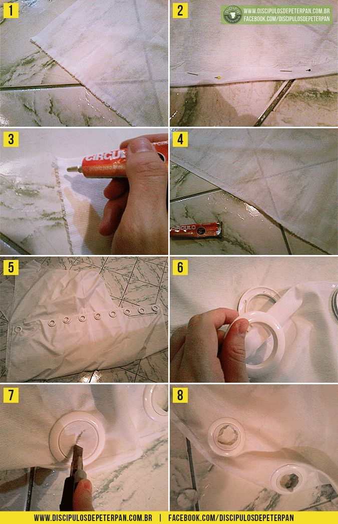 Como fazer cortina sem costurar: http://www.discipulosdepeterpan.com.br/2014/07/como-fazer-cortina-sem-costurar.html