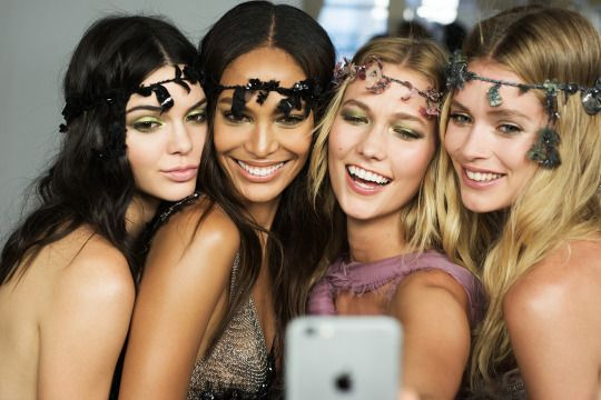 Kendall Jenner•Joan Smalls•Karlie Kloss•Doutzen Kroes Love