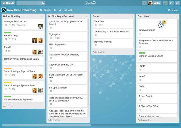 Trello review time management apps project management