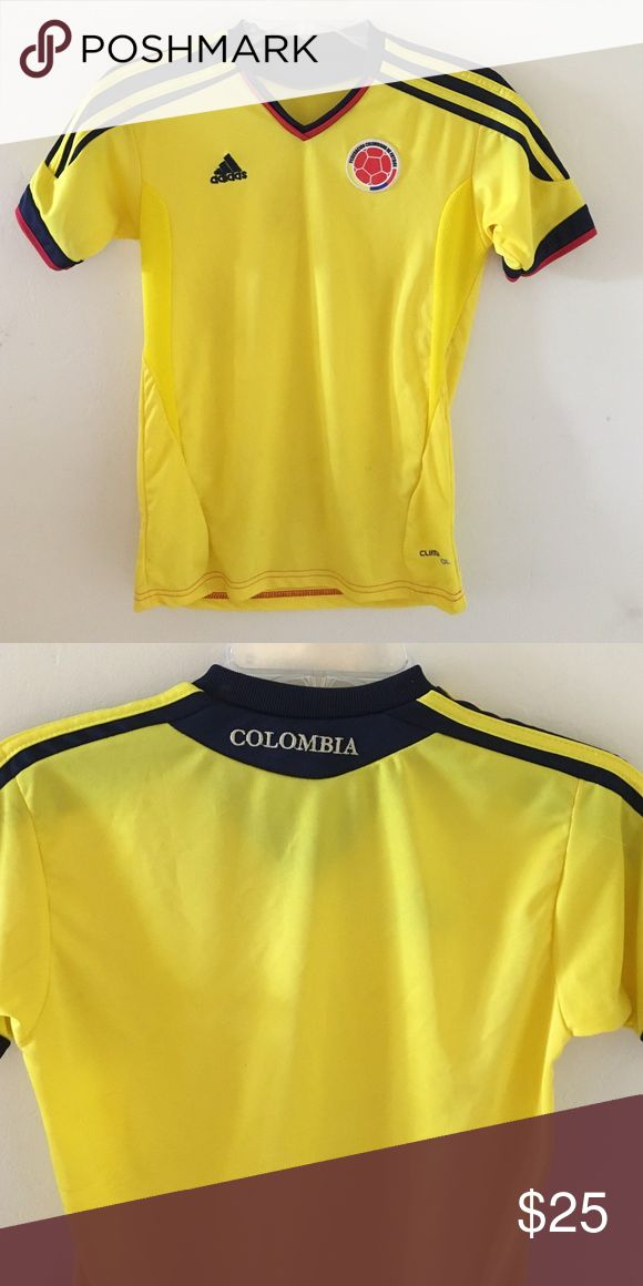 Adidas Colombia Jersey Adidas Colombia jersey! Size small. Only worn once ! Other