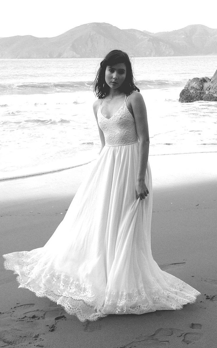 best beach wedding dresses images on pinterest