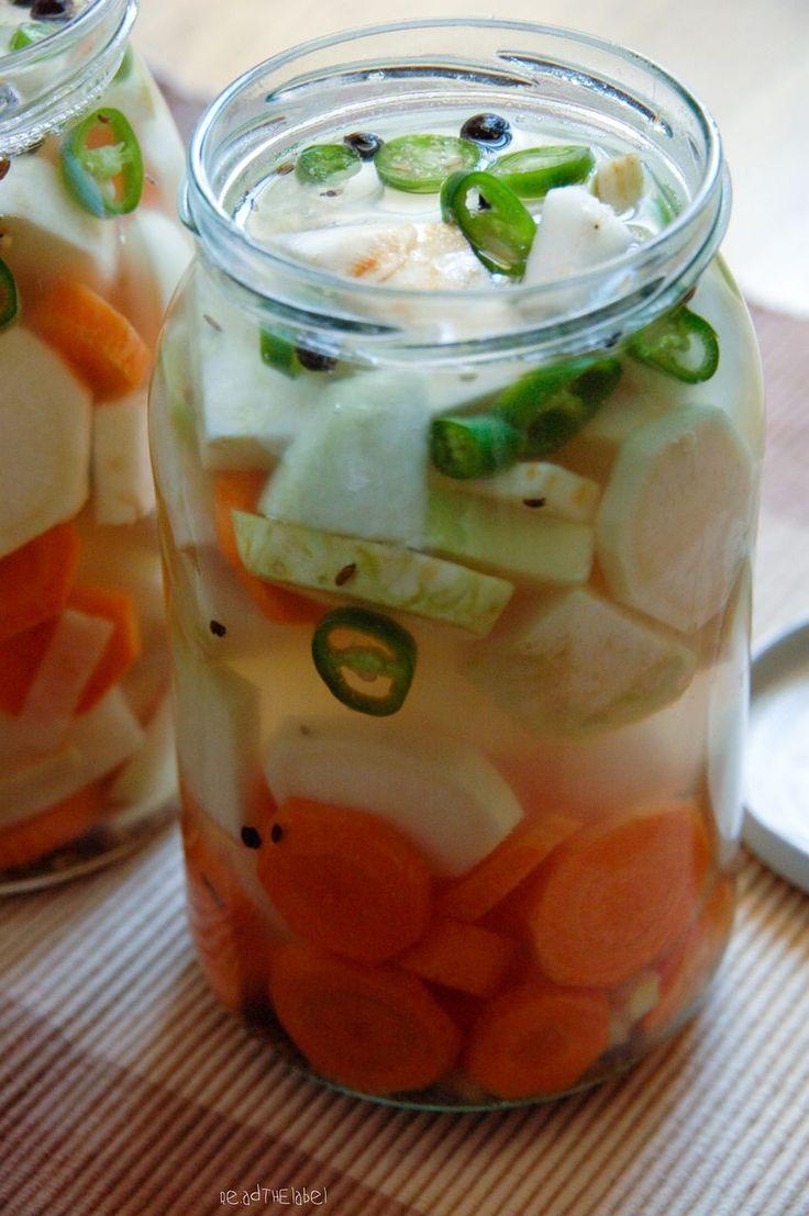 pikantna kiszonka z imbirem i chili
