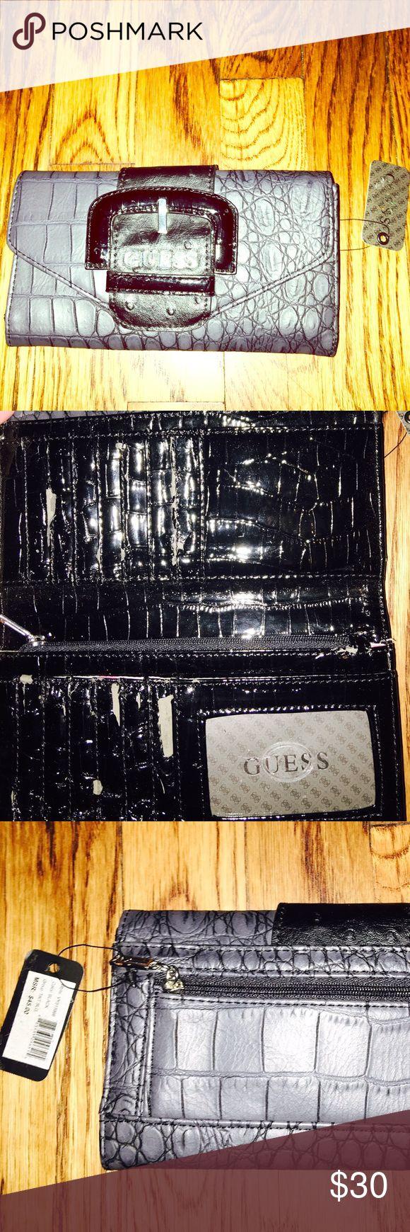 GUESS wallet Black GUESS wallet Guess Bags Wallets