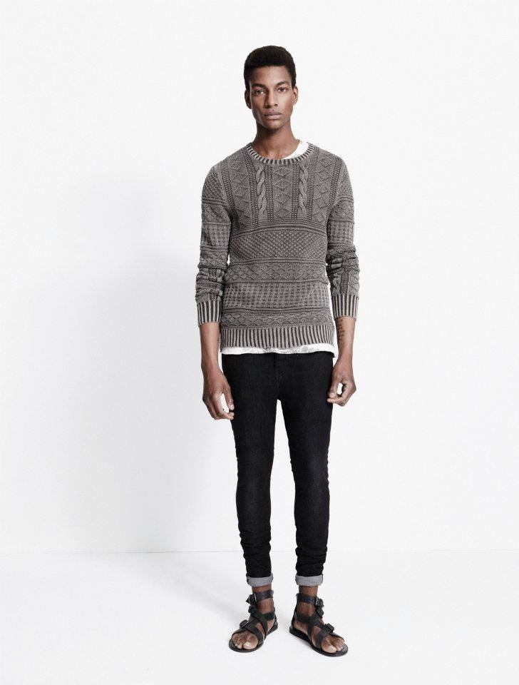 All Saints Men's Spring/Summer 2012 Lookbook: Original But Trendy British Indie Ranges With Spring/Summer 'Funnel' Styling Instruction For Modern Young Men