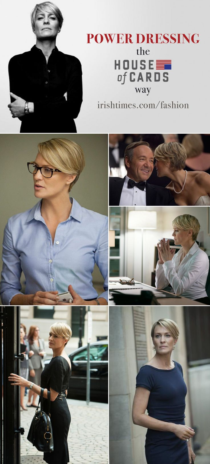 claire underwood clothing.