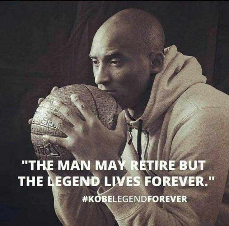 The Legend (Kobe) Lives Forever