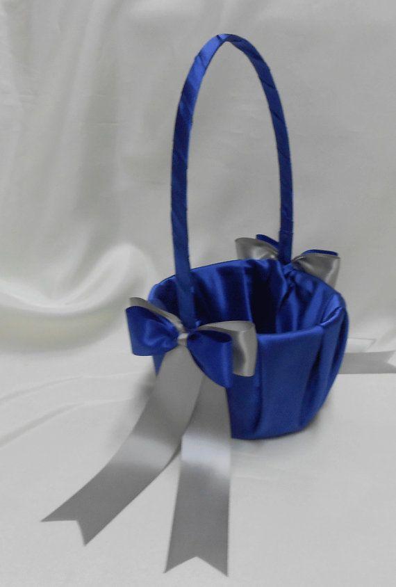 Royal Blue Silver Wedding accessories Ring by weddingsbyminali