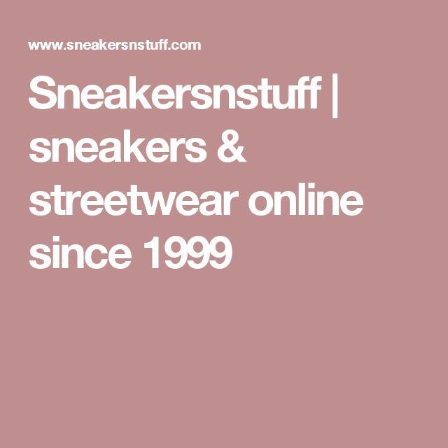 Sneakersnstuff   sneakers & streetwear online since 1999