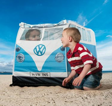 VW Camper Van Leketelt Blå. Gratis frakt på www.multitrend.no