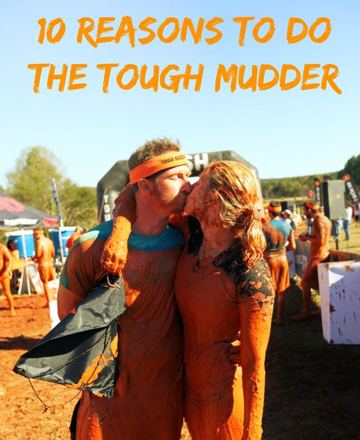 Happily Hughes: 10 Reasons to do the Tough Mudder//exercise inspiration! I haven't done this yet, but would love to have hubby & I complete something like this one year. #exercise #challenge