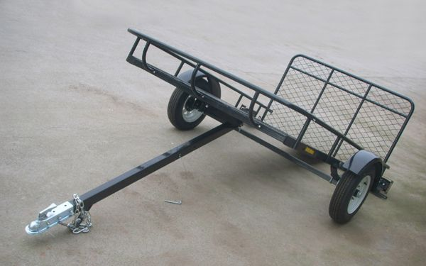 Altocraft 5x8 utility trailer from site