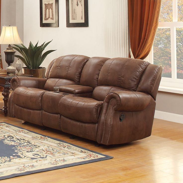 Levasy Glider Reclining Loveseat My Home Style