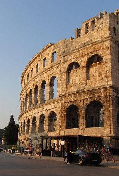 #amphithéâtre #romain de #Pula en #Croatie