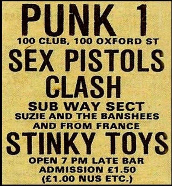 Punk at the 100 Club, London.#punk #punkinspired #punkmusic
