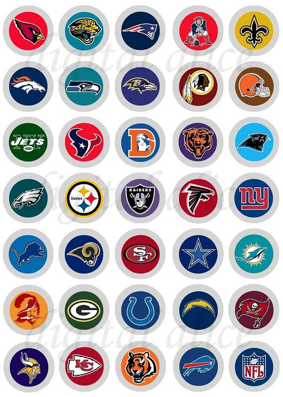 All Nfl Teams Football Logo Bottlecap Images By