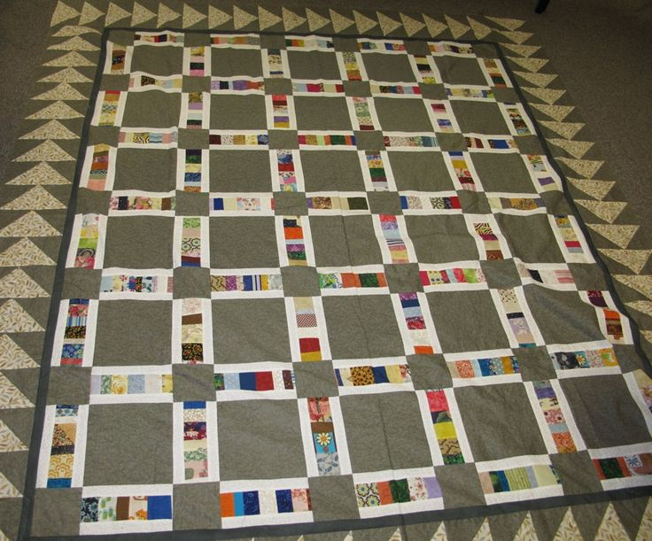 Karin's Chinese Coins variation quilt