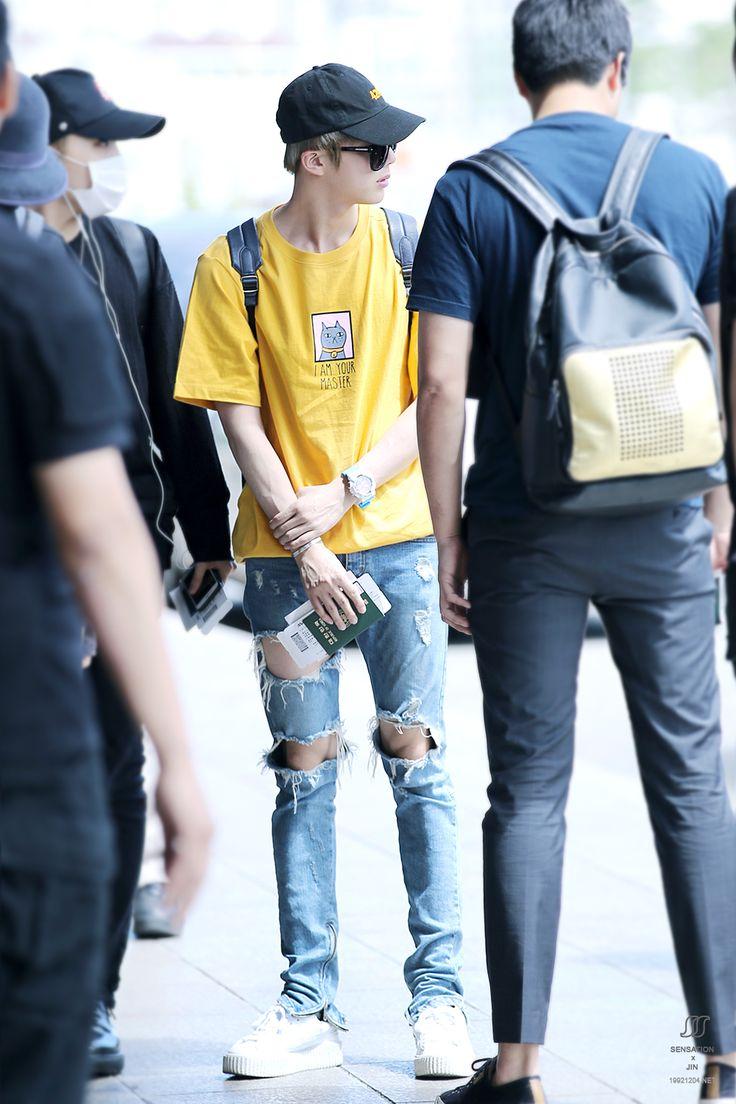 Jin © SENSATION | Do not edit #airport fashion