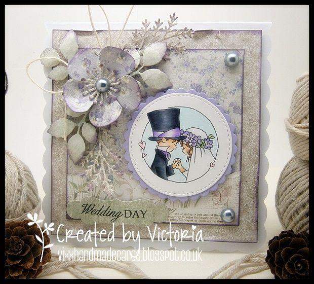 Vixx Handmade Cards: LILI OF THE VALLEY DT POST ~ SNEAK PEEK DAY 5....