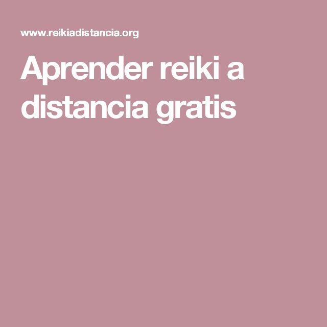 Aprender reiki a distancia gratis