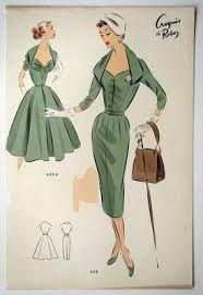 Google Image Result for http://1.bp.blogspot.com/_9Qf52vg9APU/S7GuTrgLx-I/AAAAAAAABzA/OyNqA4DMBvc/s1600/1950s_Fashion_Design_Sketch_%2BGreen...
