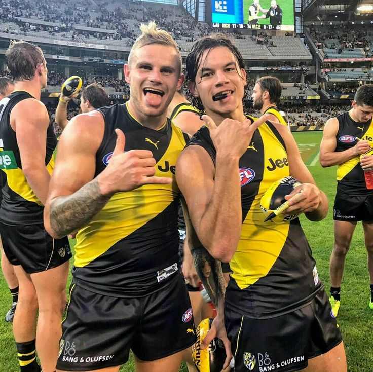 Brandon Ellis and Daniel Rioli