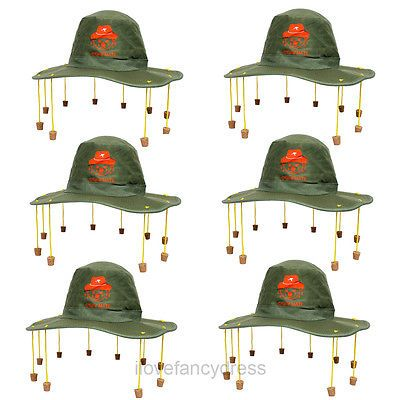 6 x australian cork hat australia day party #fancy #dress #rugby cricket supporte,  View more on the LINK: http://www.zeppy.io/product/gb/2/301840609803/