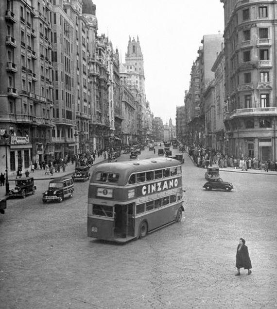 Spain. Madrid, 1954