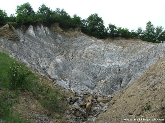 Salt-hillside. #Praid, #Transylvania.