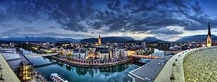 Villach panoramic views