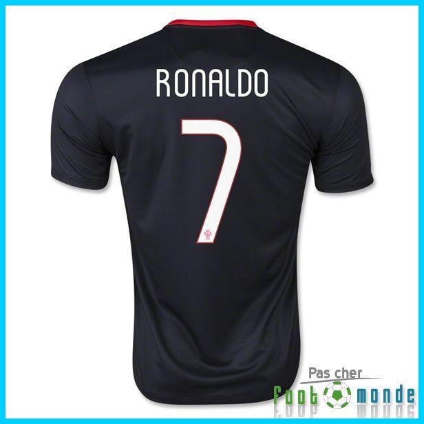 Authentique Nouveau Maillot Portugal Euro 2016 RONALDO 7 Exterieur