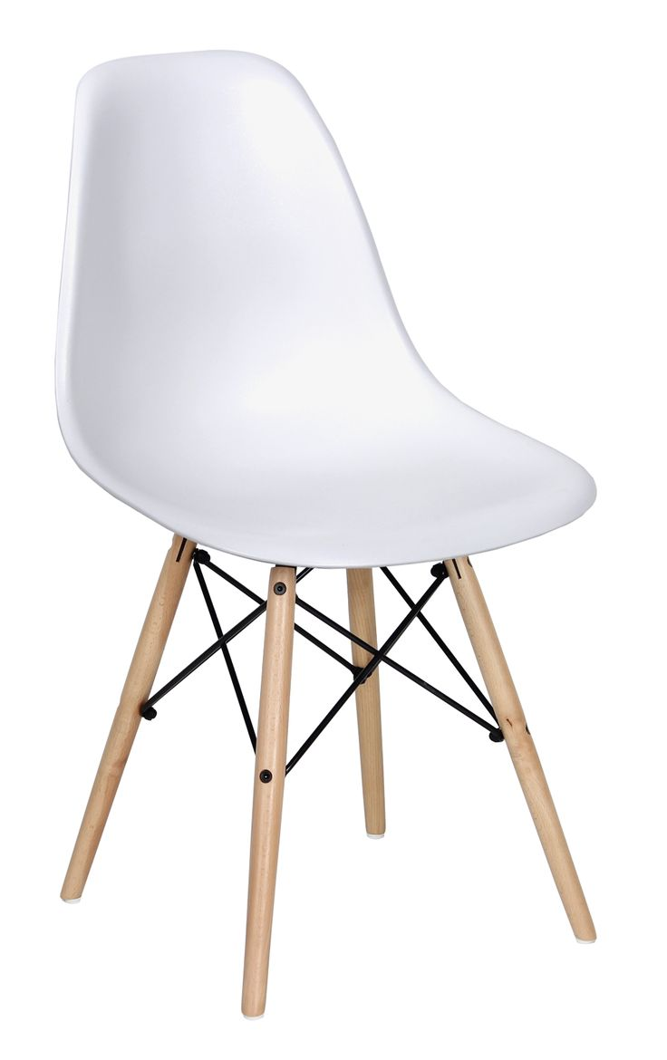 21 best chaises bureau images on pinterest chairs chair for Chaise blanche eames