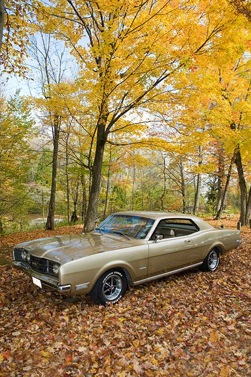 1969 Mercury Montego - I had one of these. It was red & white.