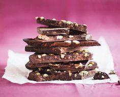 Itse tehty tumma suklaa