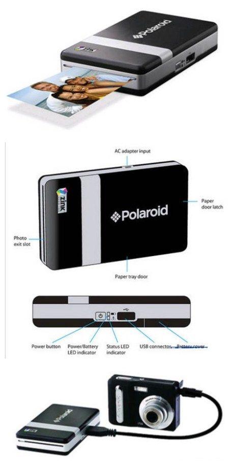 Polaroid PoGo – real-time printer