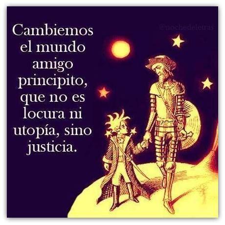 Quijote-Principito